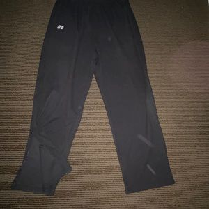 Men's Vintage Black Russel Sweatpants.